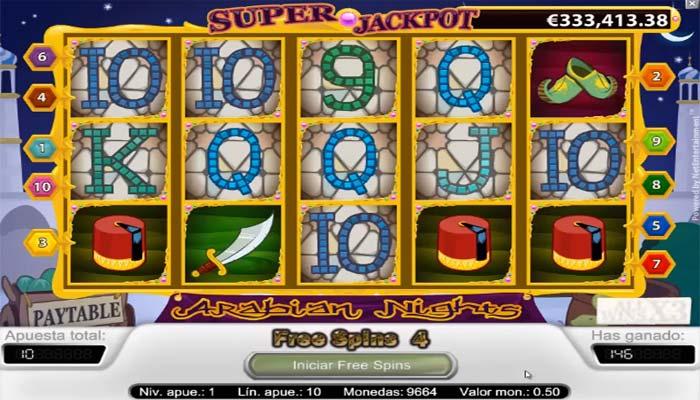 Arabian Nights Spielautomat Online