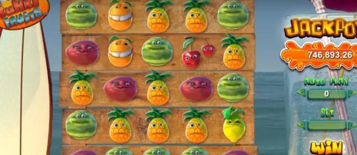 Funky Fruits Jackpot Spielautomat
