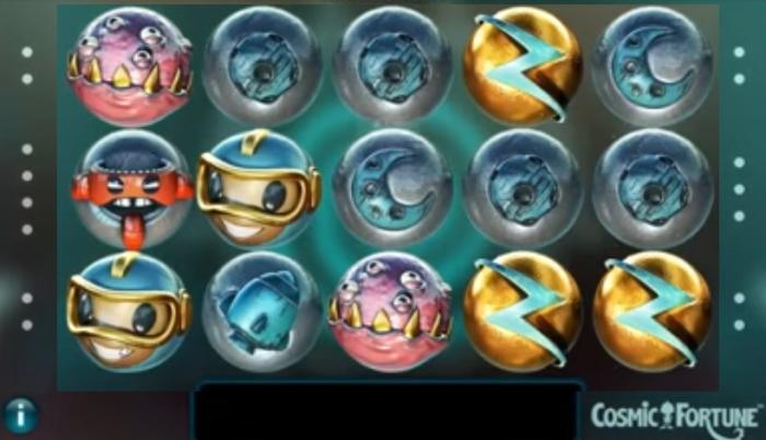 Cosmic Fortune NetEnt Jackpotspiele