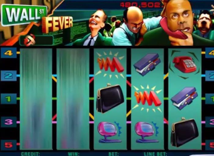 Wall Street Fever Spiel mit Jackpot
